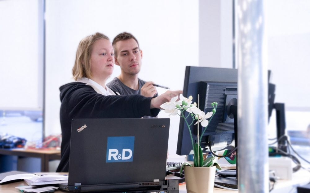 R&D employees